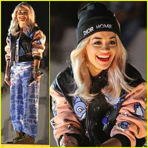 Rita Ora: 'Shine Ya Light' Video Shoot in Kosovo!