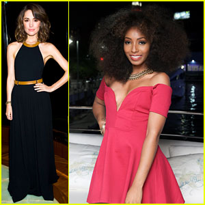 Rose Byrne & Wynter Gordon: 'Lucky Magazine' NYFW Party!