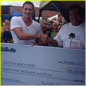 Ryan Lochte Teams With Gillette To Donate To Former Swim Club (Exclusive)