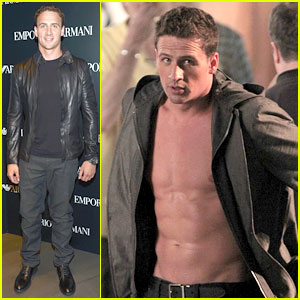 Ryan Lochte: Shirtless '30 Rock' Cameo!