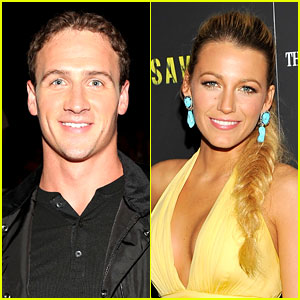 Ryan Lochte Talks Celeb Crush Blake Lively's Wedding