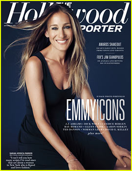 Sarah Jessica Parker Covers 'THR' Emmy Icons Issue