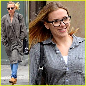 Scarlett Johannson: Parisian Shopper!