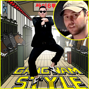 Scooter Braun Signs 'Gangnam Style' Singer Psy!
