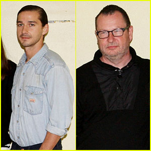 Shia LaBeouf & Lars Von Trier: 'Nymphomaniac' Photo Call!