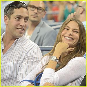 Sofia Vergara & Nick Loeb: U.S. Open Sweethearts