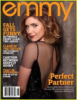 Sophia Bush Covers 'Emmy' Magazine