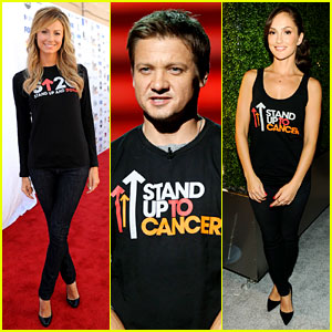 Stacy Keibler & Minka Kelly: Stand Up To Cancer Telecast!