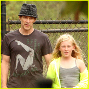 Stephen Moyer: Dog Park with Lilac!