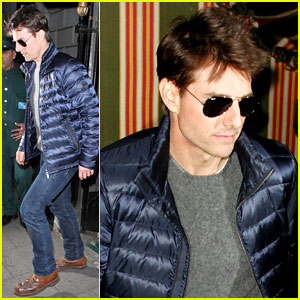 Tom Cruise: Annabel's Members Club in London!