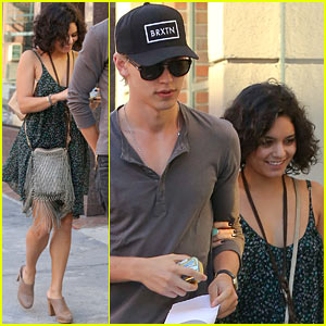 Vanessa Hudgens Loves Sunday Fundays!