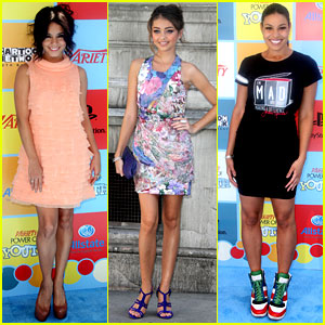 Vanessa Hudgens, Sarah Hyland, & Jordin Sparks: Power of Youth Honorees!