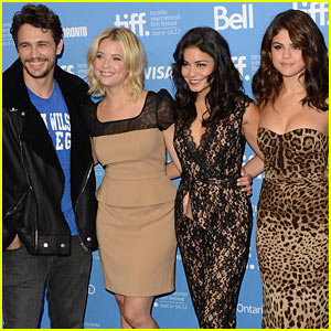 Vanessa, Selena, & Ashley: 'Spring Breakers' Photo Call at TIFF!