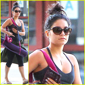 Vanessa Hudgens: Post TIFF Yoga Session