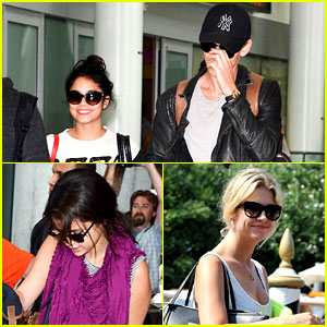 Vanessa, Selena, & Ashley: 'Spring Breakers' Head to TIFF!