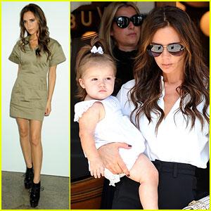Victoria Beckham: Fashion Week Fun with Harper!