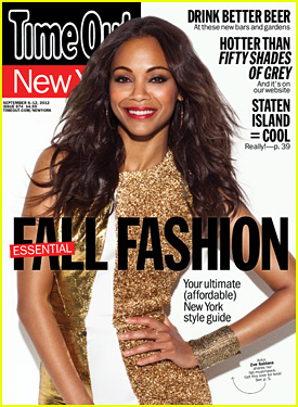 Zoe Saldana Covers 'Time Out New York'!