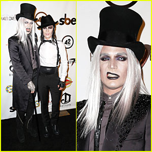 Adam Lambert & Sauli Koskinen: Glampires for Halloween Charity Event!