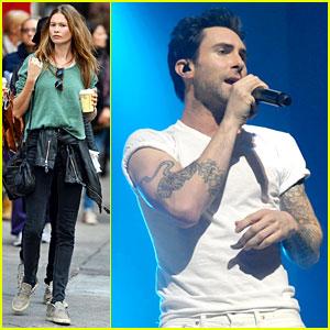 Adam Levine: Maroon 5 Citi Concert!