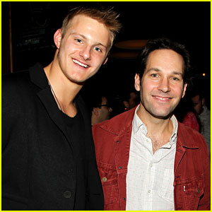 Alexander Ludwig & Paul Rudd: Celebrity Bowling Benefit!