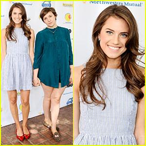 Allison Williams & Lena Dunham: LA Loves Alex's Lemonade Charity Event!