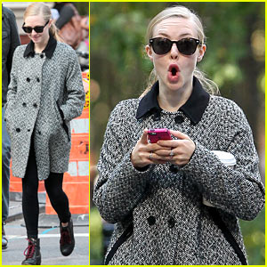 Amanda Seyfried: Funny Faces in NYC