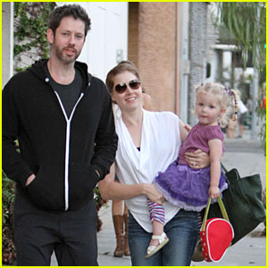 Amy Adams & Darren Le Gallo: Little Next Door Restaurant with Aviana!