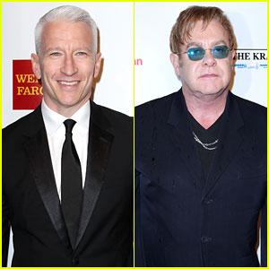Anderson Cooper: Elton John AIDS Foundation Benefit!