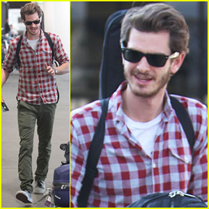 Andrew Garfield: From London to LAX!