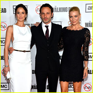 Andrew Lincoln & Sarah Wayne Callies: 'Walking Dead' Season 3 Premiere!
