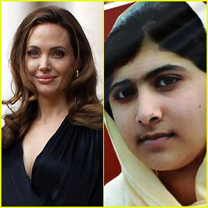Angelina Jolie Blogs About Malala Yousafzai & Her Kids