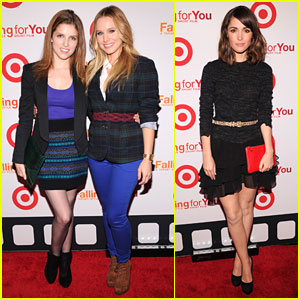 Anna Kendrick & Kristen Bell: Target's Falling For You Event!