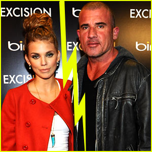 AnnaLynne McCord & Dominic Purcell