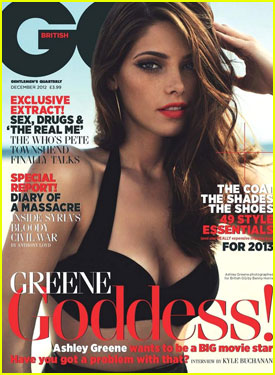 Ashley Greene Covers 'British GQ' December 2012