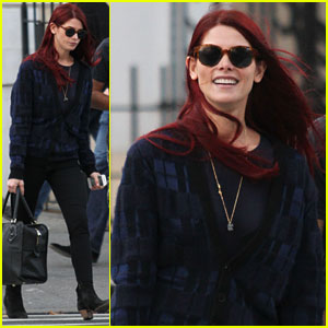 Ashley Greene: New Red Hair!