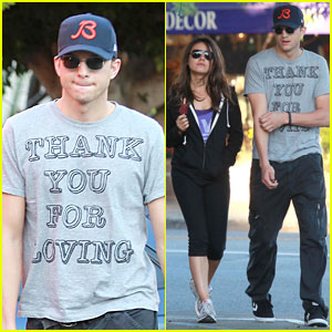 Ashton Kutcher &#038; Mila Kunis: Thank You for Loving Each Other!