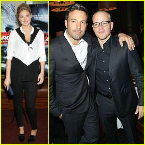 Ben Affleck & Matt Damon: 'Argo' New York Premiere!
