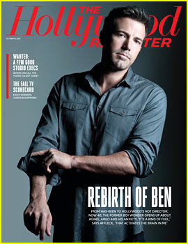 Ben Affleck Covers 'The Hollywood Reporter'