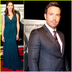 Ben Affleck & Jennifer Garner: 'Argo' D.C. Premiere!
