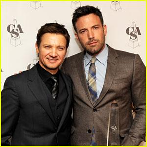 Ben Affleck & Jeremy Renner: Casting Society Awards!