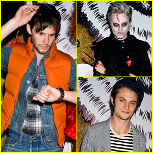 Ben Barnes - Just Jared Halloween Party 2012
