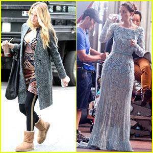 Blake Lively & Leighton Meester: 'Gossip Girl' Spoiler Scenes!