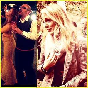 Blake Lively & Ryan Reynolds Attend Amber Tamblyn's Wedding - Pictures Revealed!