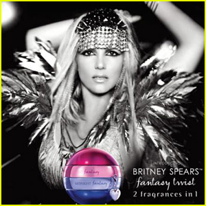 Britney Spears: 'Fantasy Twist' Fragrance Ad