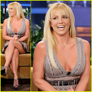 Britney Spears: 'Tonight Show' with Simon Cowell!