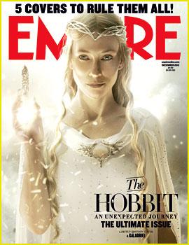 Cate Blanchett Covers 'Empire' Magazine as Galadriel!