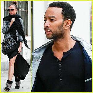 John Legend & Chrissy Teigen: Gemma's Lunch Lovebirds!