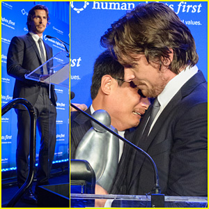 Christian Bale: Human Rights Award Dinner!