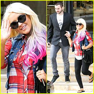Christina Aguilera: American Music Awards Performer!