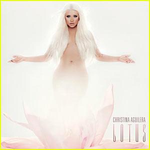 Christina Aguilera: 'Lotus' Cover Art Revealed!